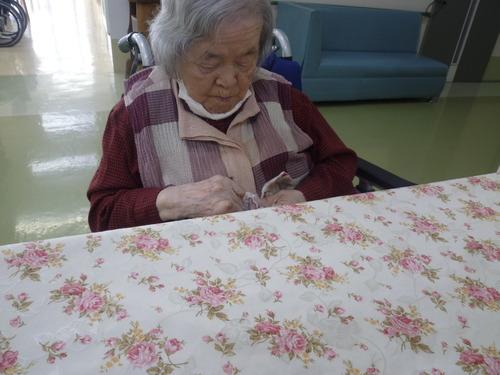 縫い物(1)