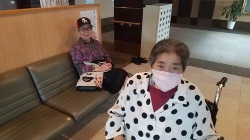 デイ待ちの中山様と伊藤富子様9月15日�