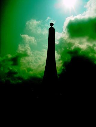 台湾 北回帰線記念碑