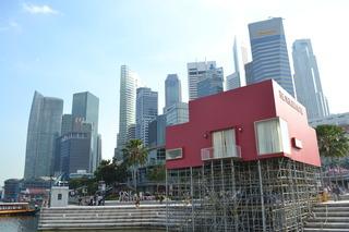 シンガポール マーライオン箱