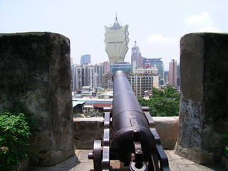 マカオ 砲台