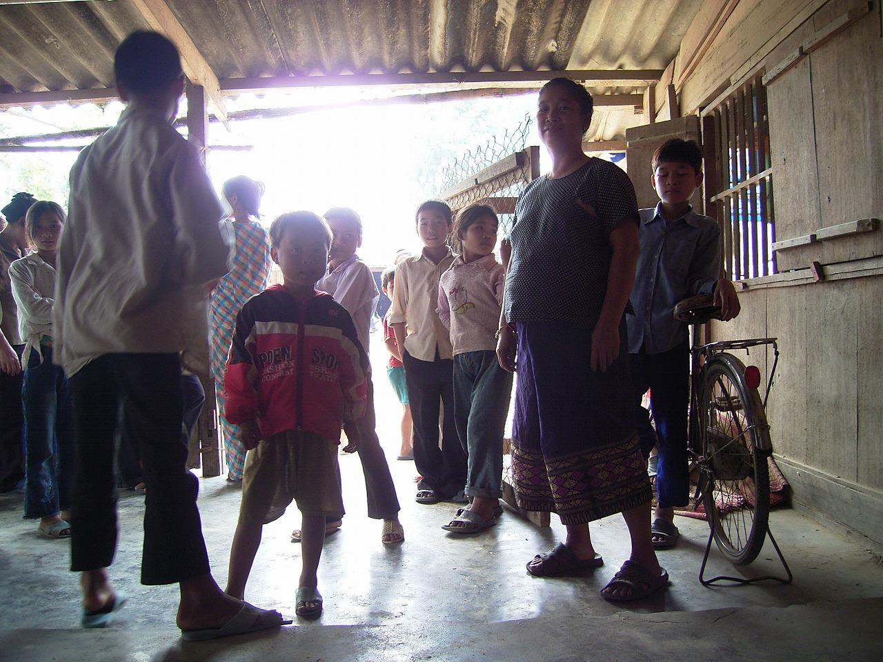 ベトナム国境付近の集落