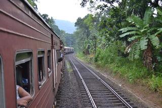 スリランカ 1日目鉄道
