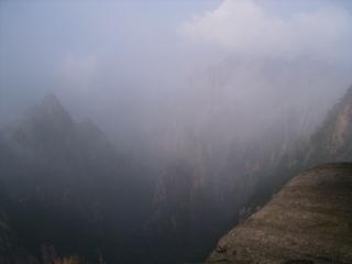 黄山 メインロード