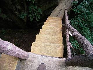 黄山 西海大峡谷北 階段