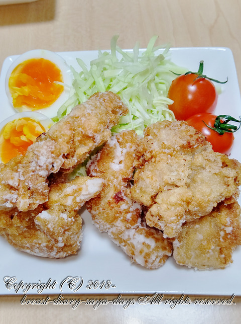 育乳レシピ_20191018_鶏モモ肉の唐揚げ