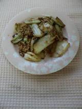 ツナと白菜