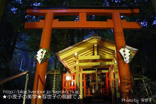 縁結び〜京都貴船神社中宮〜