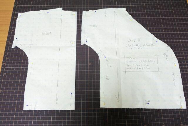 fd572b029d19c 短肌着を作る 1    Sayuri Ha ~雑多なハンドメイド記録~