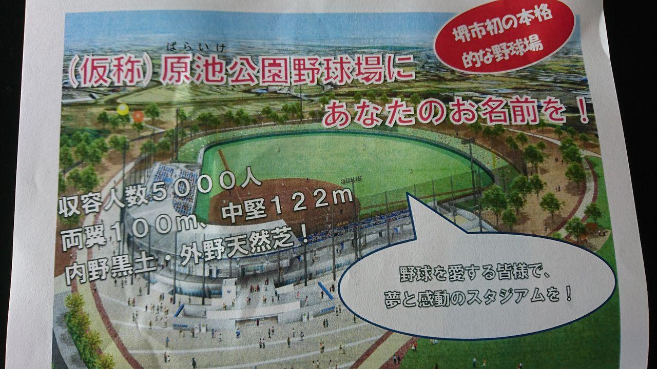 BFL堺 本拠地原池公園について : カモメとモズ中心の生活