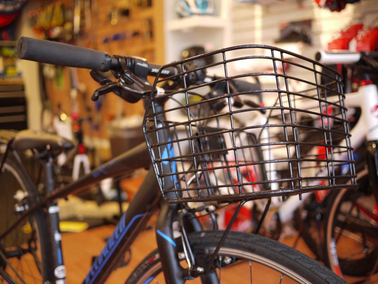 自転車店 平塚 自転車店 : 荷物を載せる為にハンドルの前 ...
