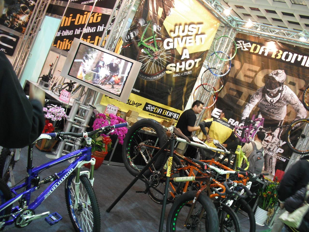 自転車の 自転車 台北 レンタル : ... 自転車の出店が目立ちました