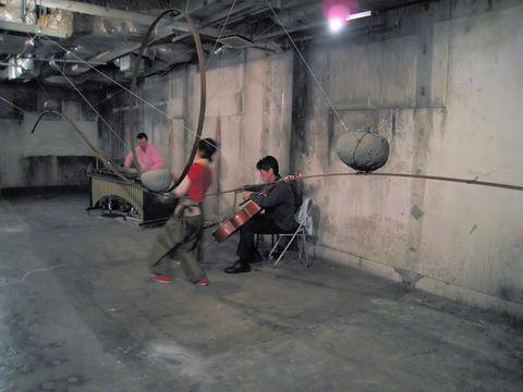 サクサベウシオ地下同行室