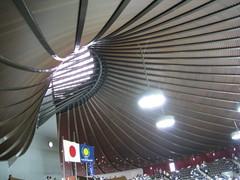 客席と天井