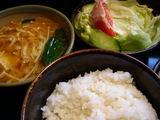 ご飯・味噌汁・サラダ