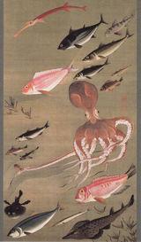 群魚図(蛸)