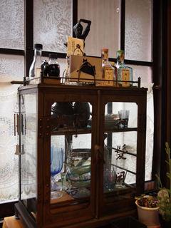 カフェの棚