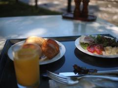 テラス朝食