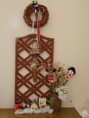 玄関の飾り