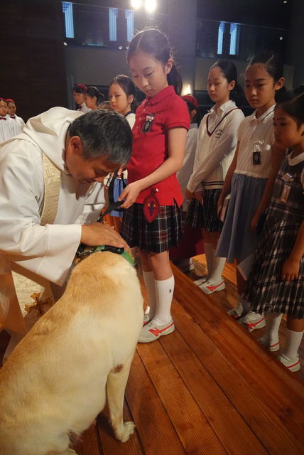 クレアさんお誕生日祝福 : 動物介在教育-Animal Assisted Education-