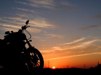 バイクで旅