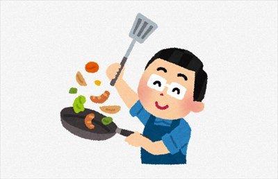 ワイ一人暮らし大学生の晩飯!
