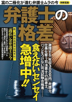 別冊宝島「弁護士の格差」