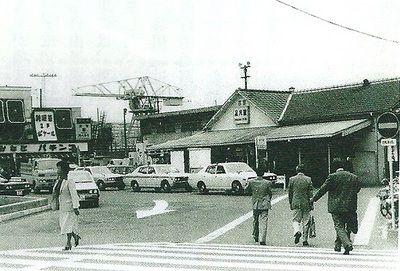 昔の品川駅港南口