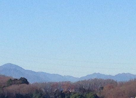 大室山と三つ峠山s