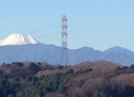 富士山と大室山s
