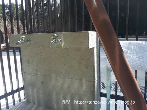 堀山下高区配水場の水02