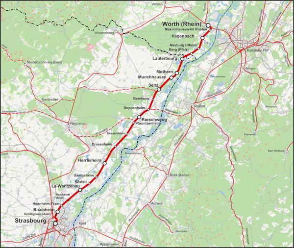Bahnstrecke_Wörth–Strasbourg
