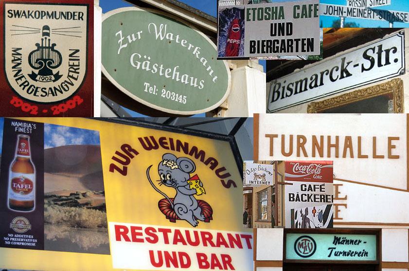 120.ナミビアのドイツ語 : アル...