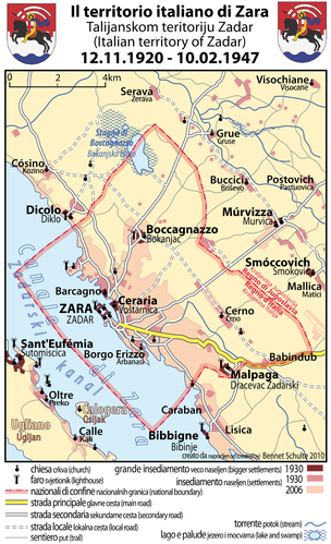 Zara-Zadar-1920-1947