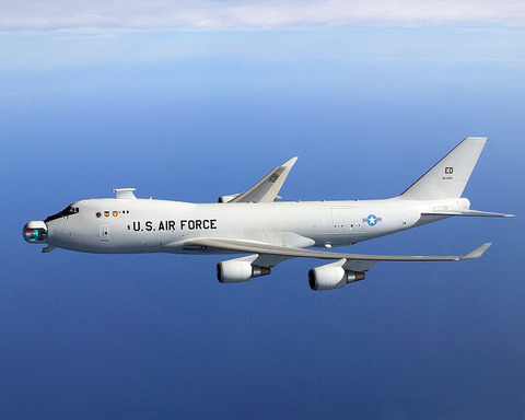 116-YAL-1A_Airborne_Laser_unstowed