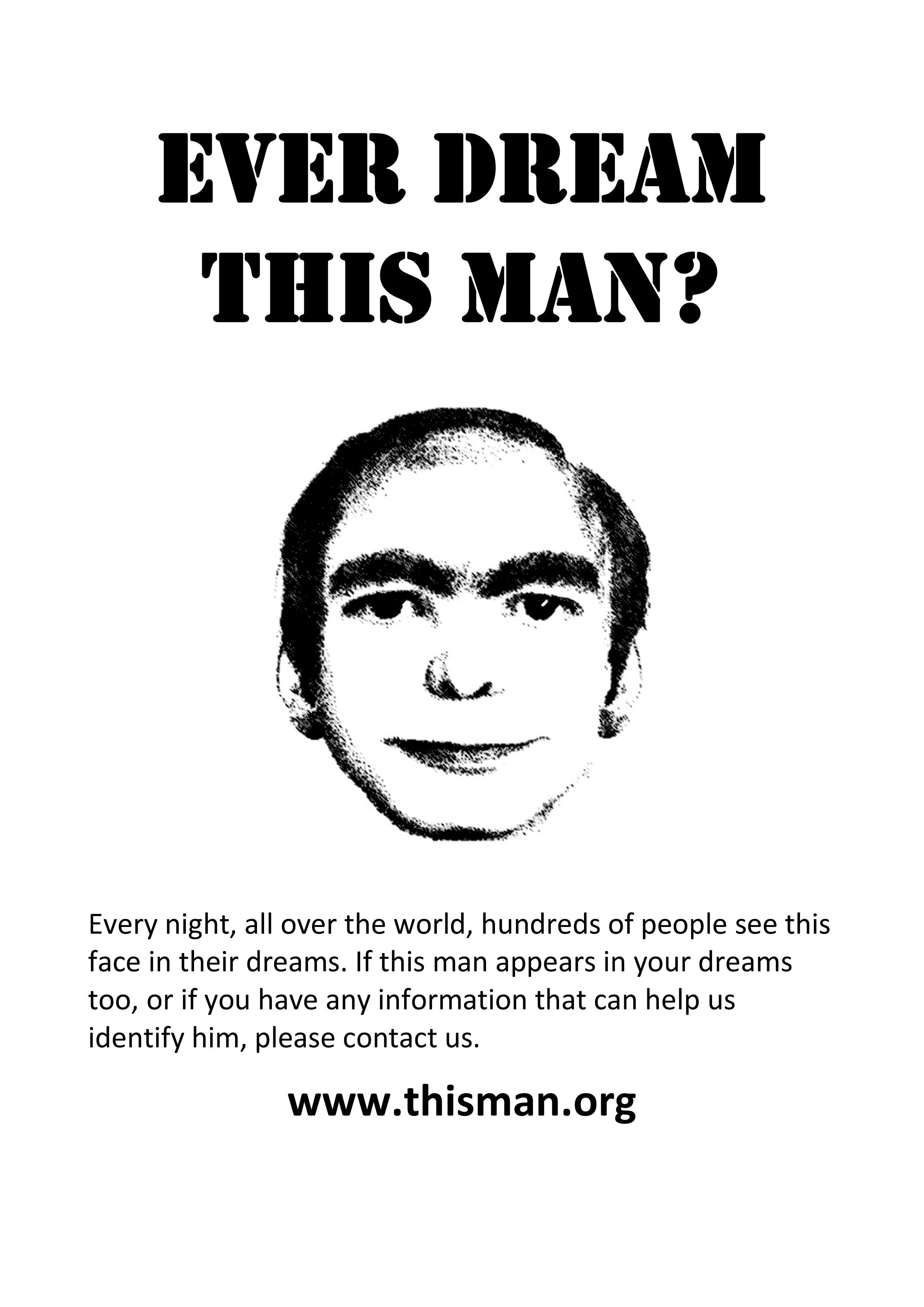 夢に現れる謎の男「This man」とは...