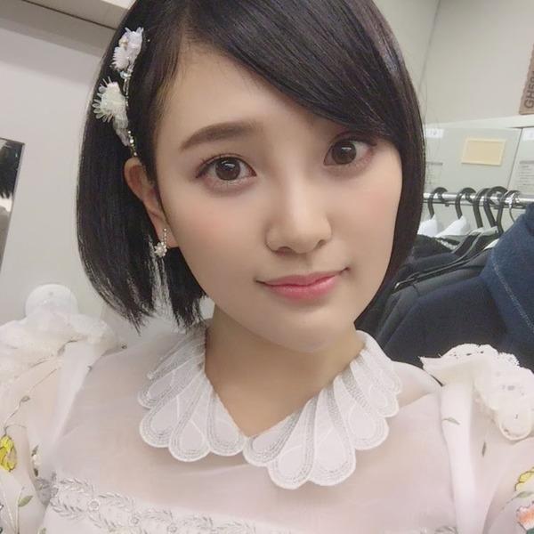 【ファッ!?】HKT48の人気メンバー兒玉遥さんの容姿がヤバすぎwwwwwww