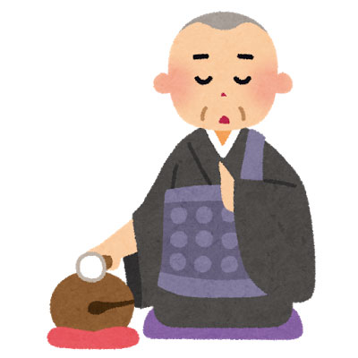 free-illustration-osoushiki-obousan-irasutoya