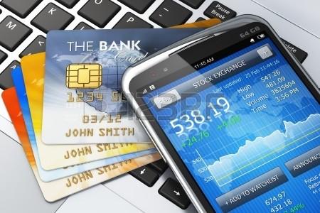 17660271-モバイル-バンキング、金融とお金の概念を作る