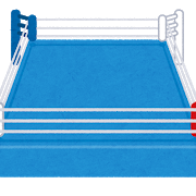 sports_kakutougi_boxing_ring