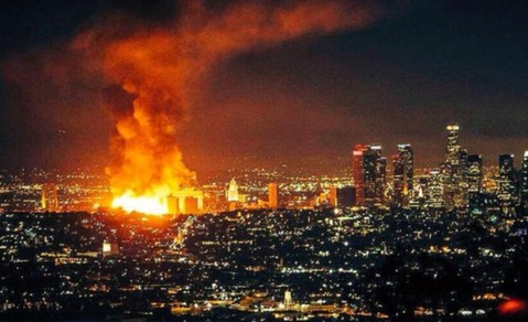 Los-Angeles-Fire