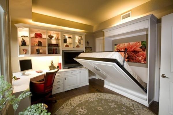 狭い部屋を有効活用する、素晴らしいインテリアのアイデア 後編