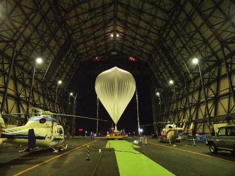 大気球実験B11-04