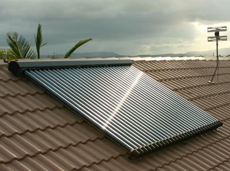 太陽光温水パネル