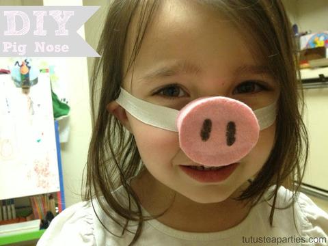 DIY Pig Nose