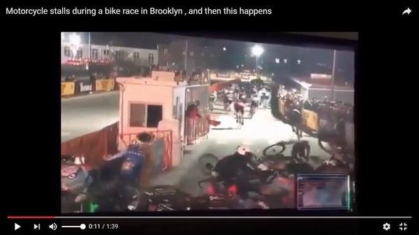 自転車の 自転車レース 事故 車 : 悲劇】自転車レースのコース ...