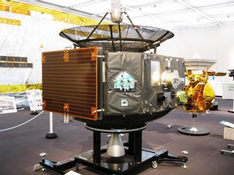 探査機「のぞみ」模型