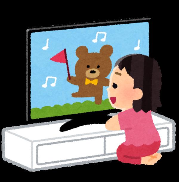 テレビなどの内容が子供に与える影響がある為出た結論がwwwwwww