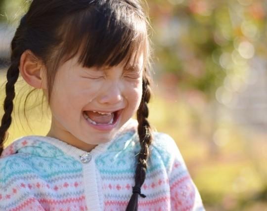 娘が『右足がいたい~』ってしばらく泣いてたんだけど、ひとしきり泣いてから