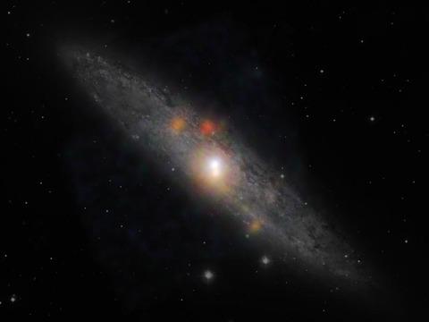 わずか10年で眠りについたブラックホール